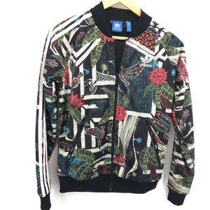 Adidas Brazil Floral Track Jacket